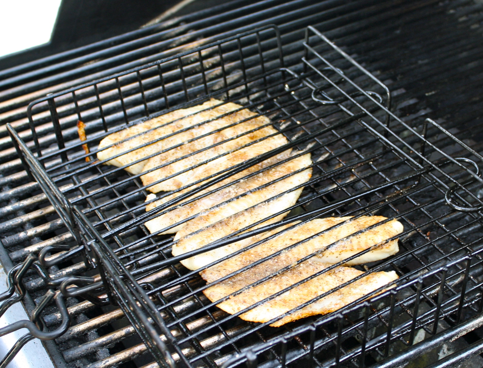 Grilled Tilapia with Sour Cherry Salsa | good food not ...